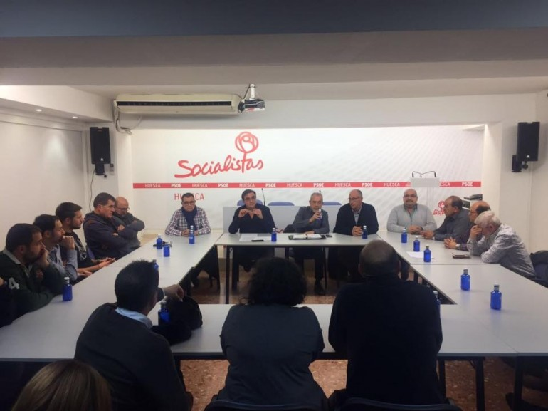 PSOE Pedro Sánchez. RondaSomontano