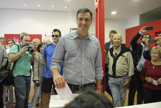 Pedro Sánchez. Ronda Somontano.