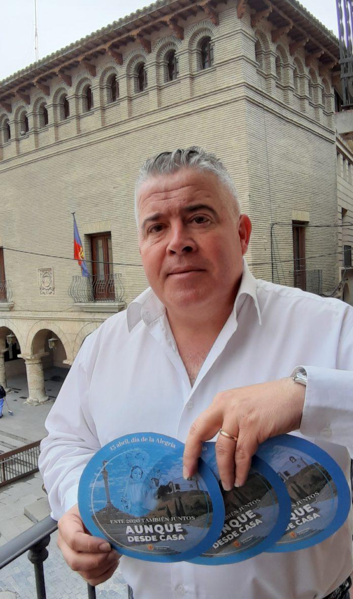 Javier Vilarrubí, Concejal de Fiestas del Ayuntamiento de Monzón