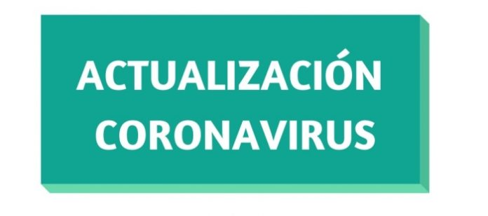 ACTUALIZACION CORONAVIRUS