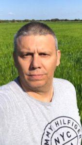 Fernando Garcés, agricultor