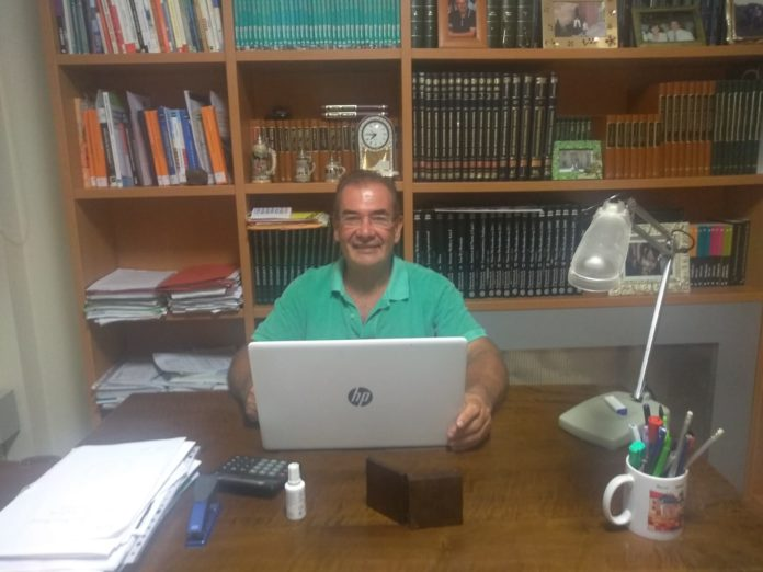 Vicente Español Martí, Director del IES Martínez Vargas