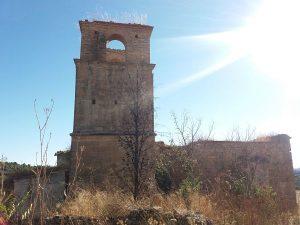 Guardia el último pueblo abandonado en el Somontano