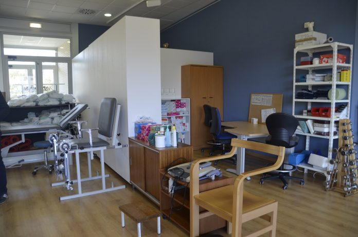 servicio de fisioterapia del hospital de barbastro