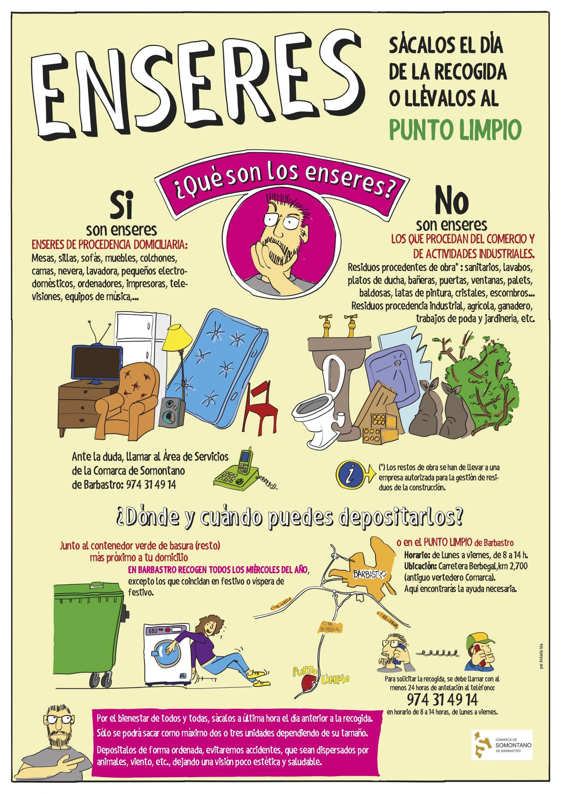 comarca reciclaje