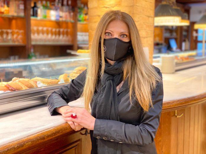 Natia Amirashvili de La Cantina del Gran Hotel Ciudad de Barbastro