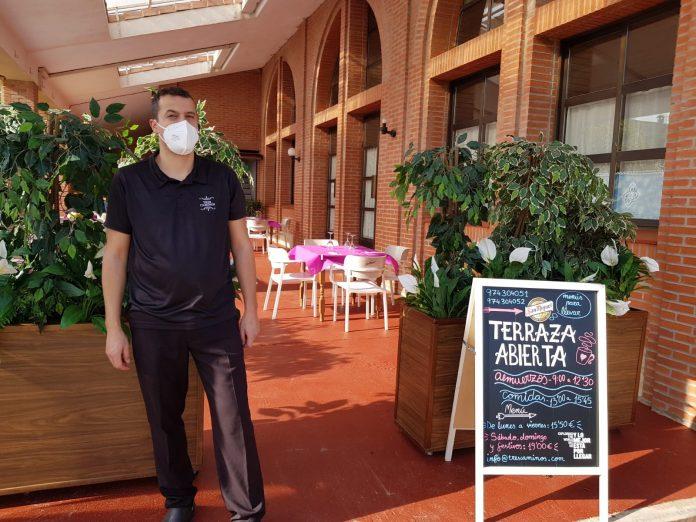 Javier Puyal del Restaurante Tres Caminos de El Grado
