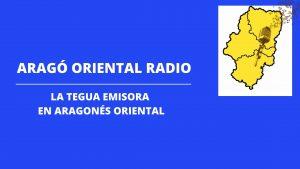 Nace la primera emisora de radio en aragonés oriental