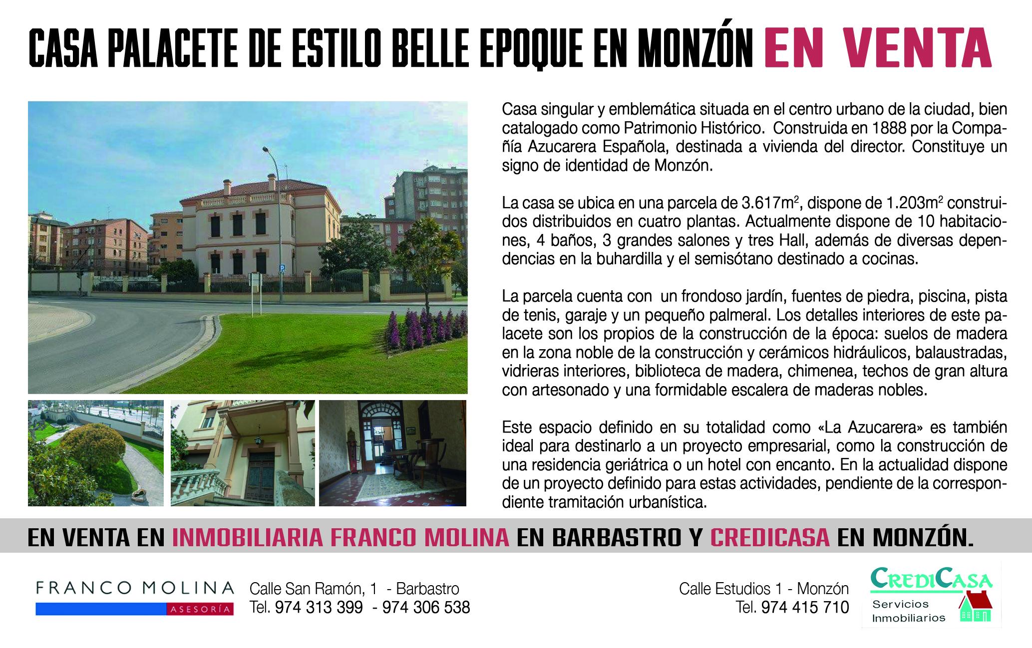 FRANCO MOLINA CENTRAL